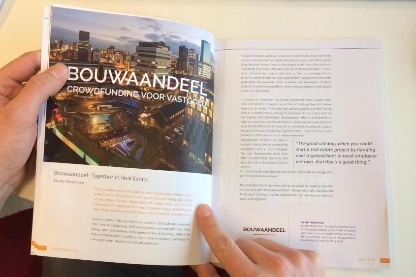Lees ons in BOSS magazine