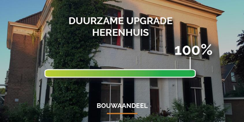 Campagne Herenhuis Velp geslaagd