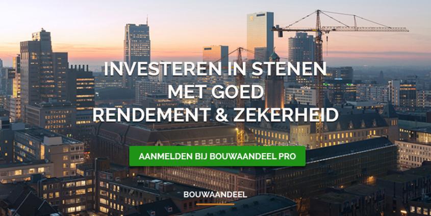 Bouwaandeel Pro voor professionele investeerders