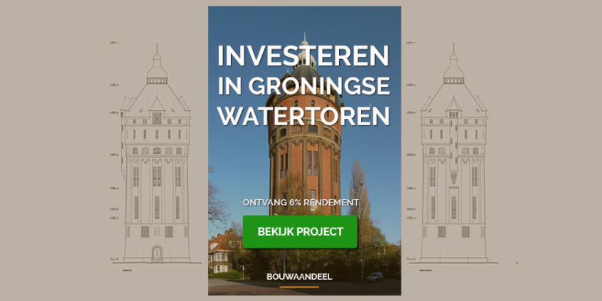 Investeren in Groningse watertoren